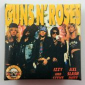 Guns N'Roses - 'Group/Names' Square Badge